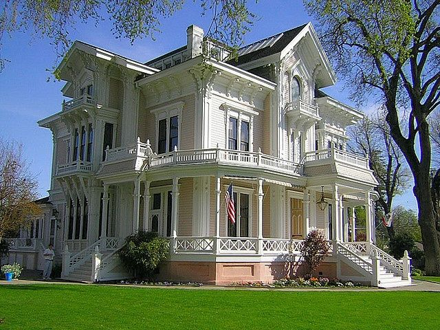 italianate - Mansion Architectural Styles