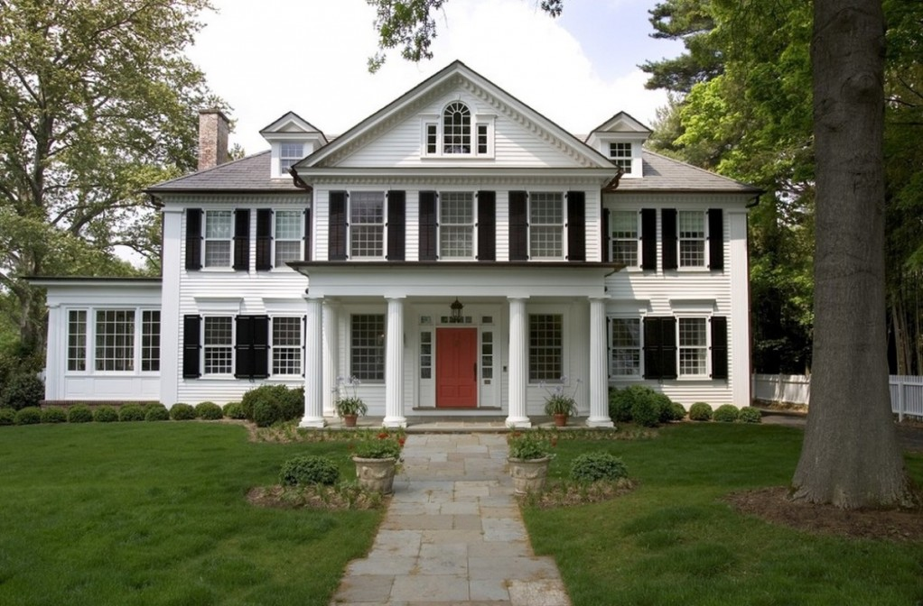 colonial colonial architecture - New Home Architecture