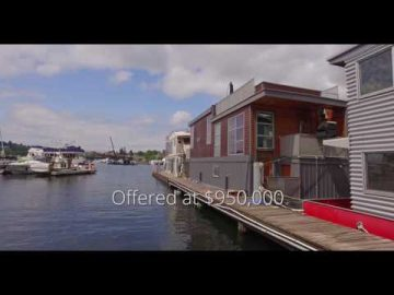 The Ultimate Lifestyle in Seattle. Your very own floating home.